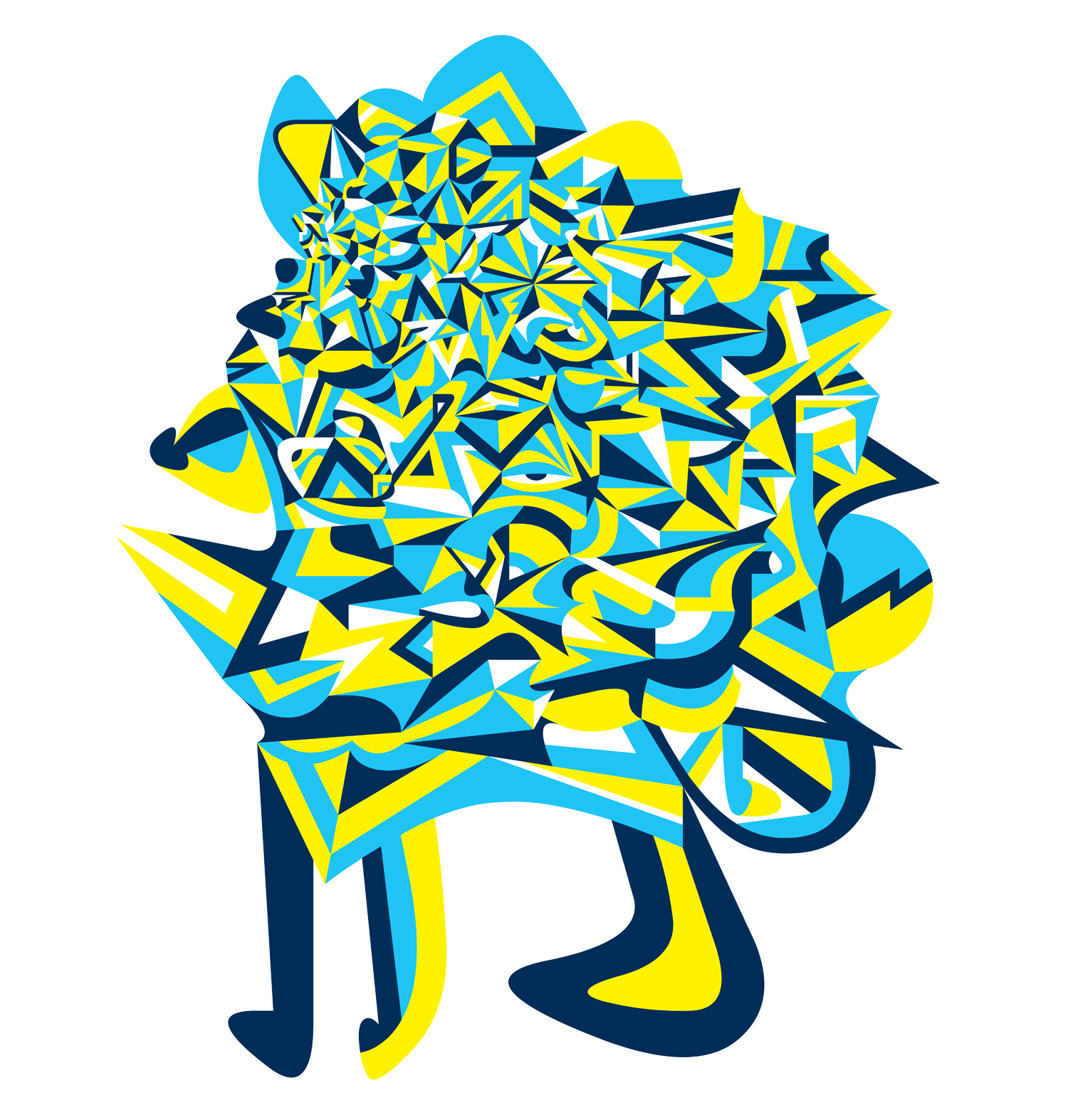 Praefectus Astana (Mascot), 2006 computer generated vector art