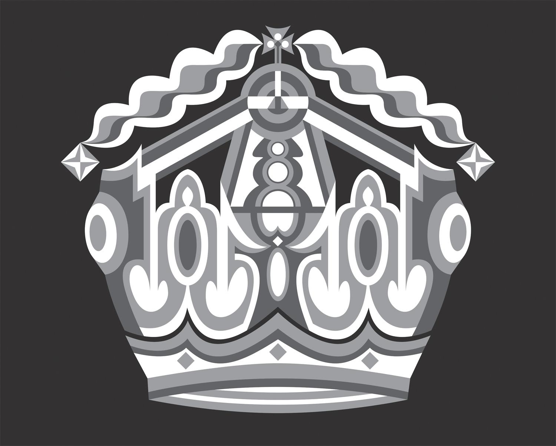 Majesty Surpassed (Version II), 2005 computer generated vector art