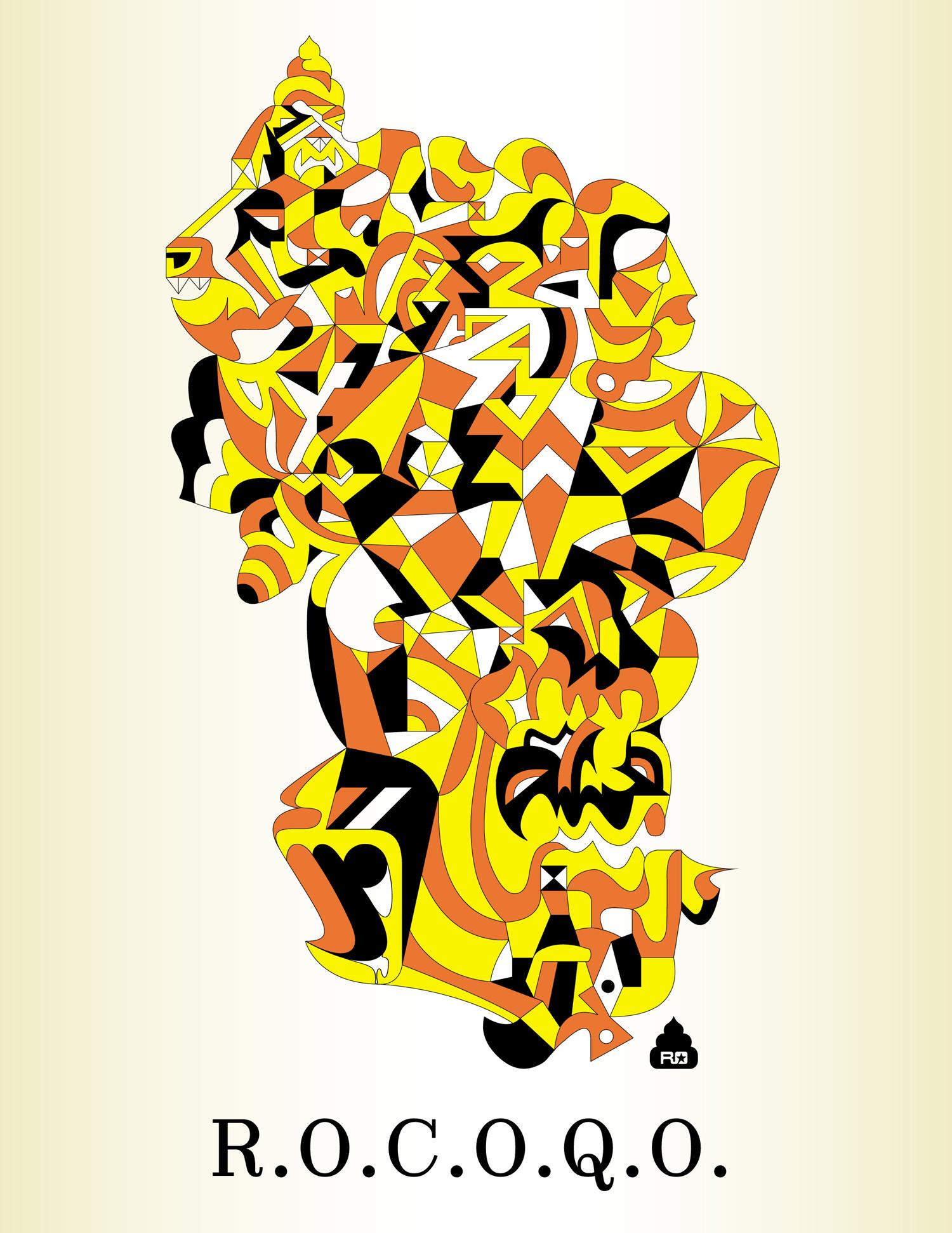 R.O.C.O.Q.O., 2002 computer generated vector art