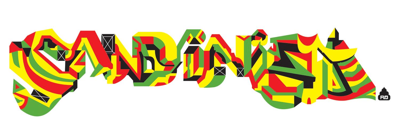 Sandinista, 1999 computer based vector art