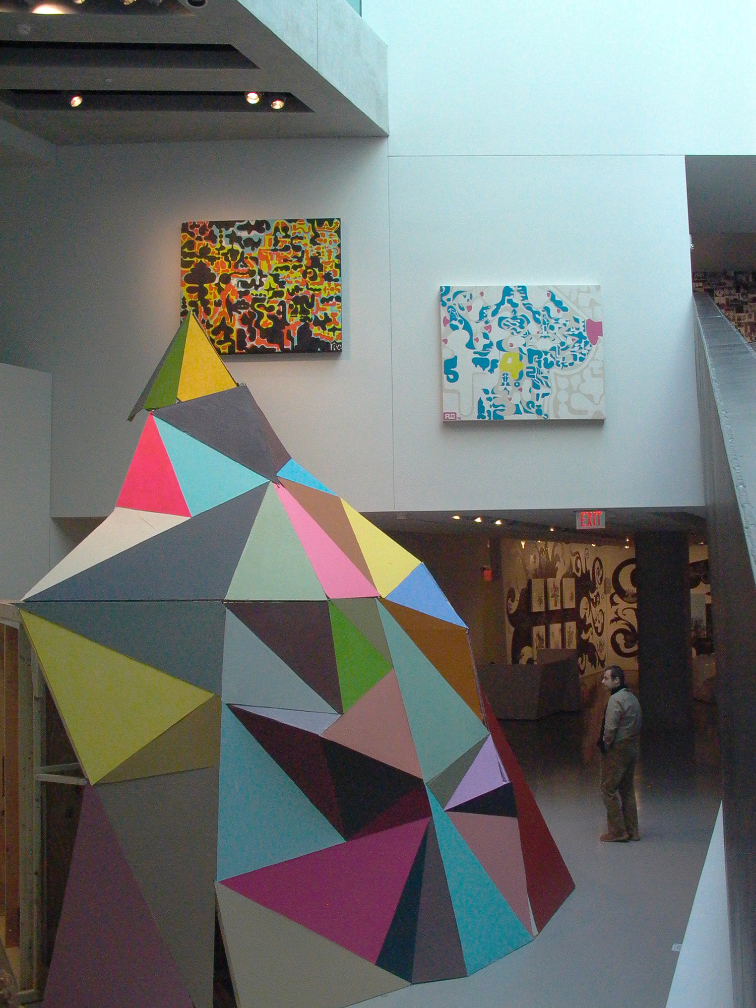 Installation view,   Beautiful Losers    Center for Contemporary Arts  Cincinnati, Ohio, 2004