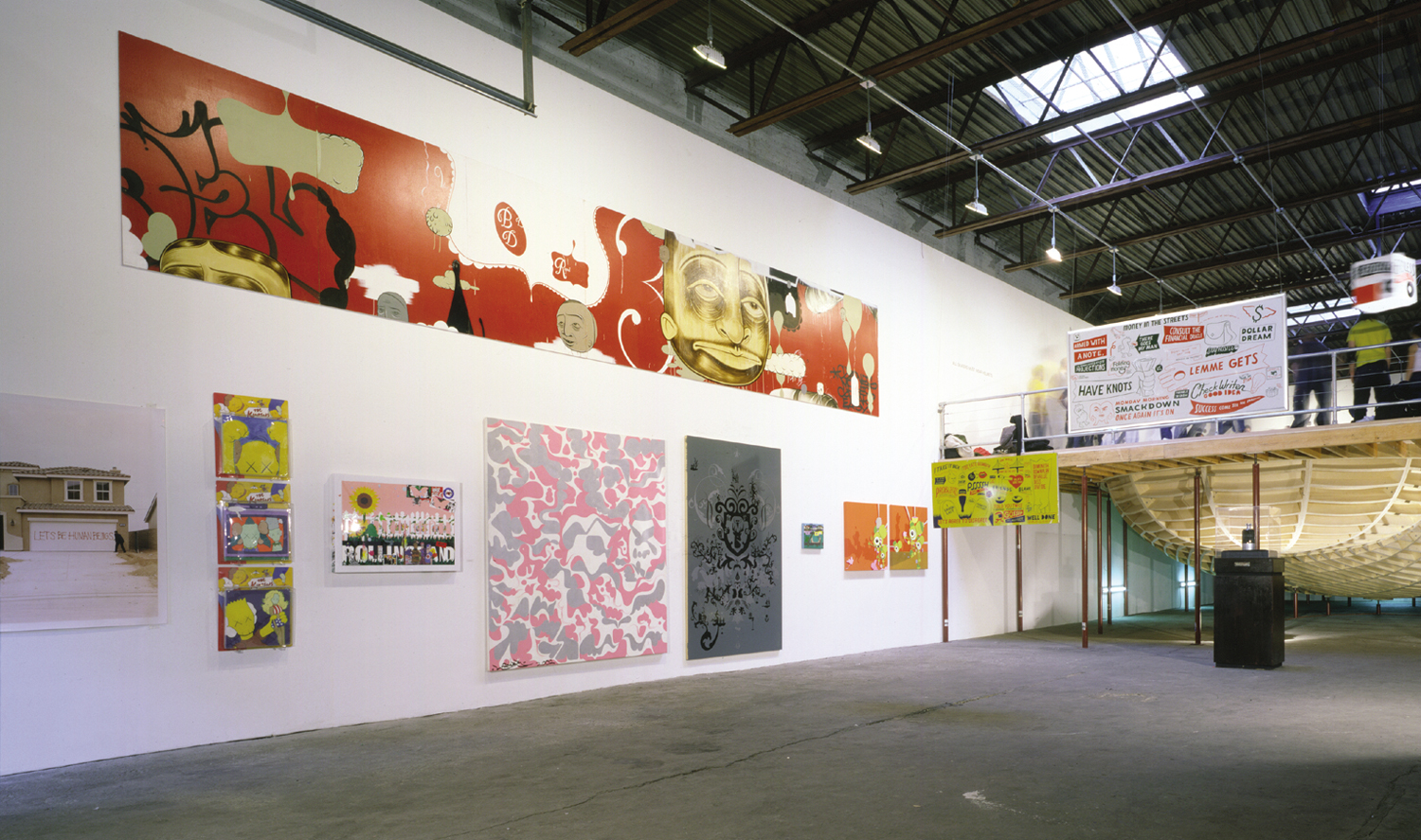 Installation view,  Sessions: The Bowl   Deitch Projects  New York, 2003