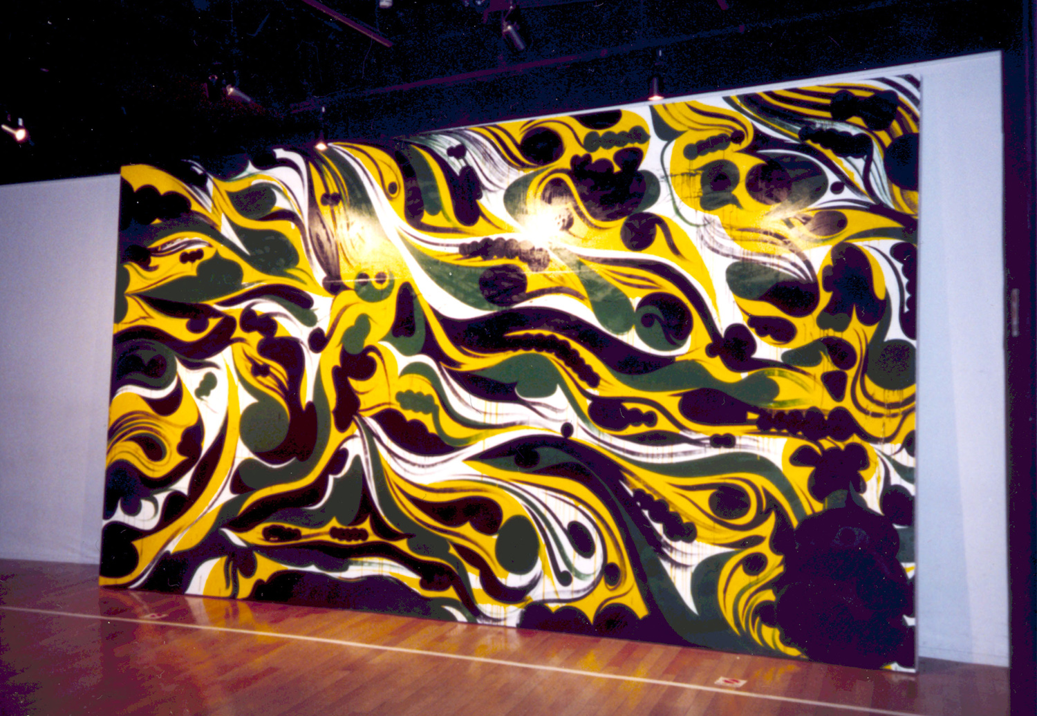 installation view,  Final Modification I  Ex' Realm Gallery Tokyo, Japan, 2003  with artists David Ellis and  Kami