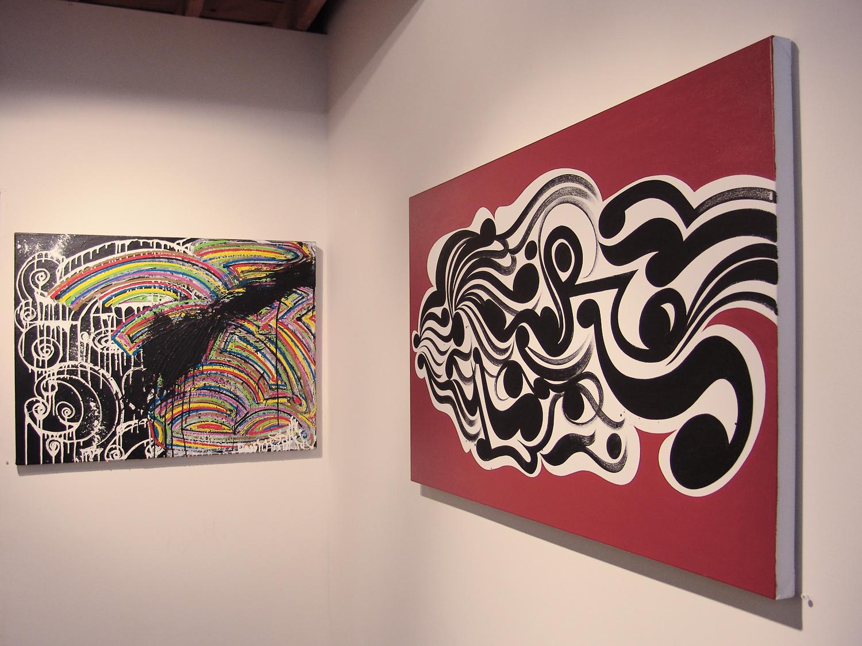 Installation view,  Neospectives   Kinsey/Desforges  Culver City, 2006
