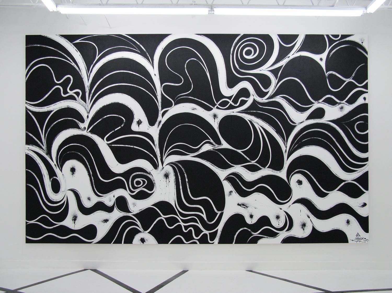 Installation view, Wreckless Abandon ,OHWOW, Miami, 2008