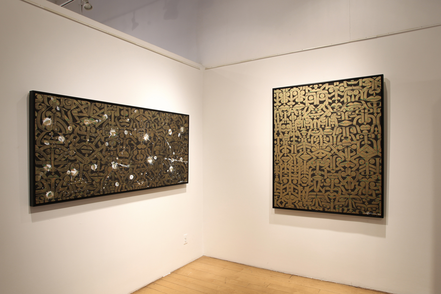 Installation view,  Rostarr & Saber , Opera Gallery, Soho, New York, 2013