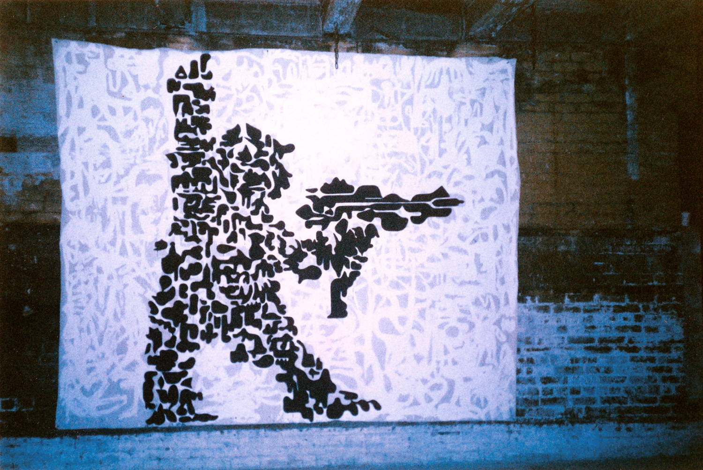 installation view,  Victory  Bowery, NY, 1998