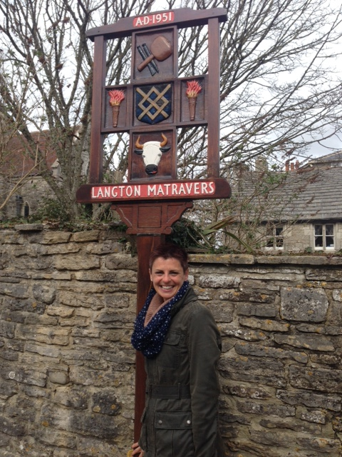 Me. In Langton Matravers. After all this time.