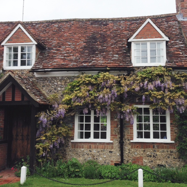 Mr Tom's cottage? Someone's house in Dibley? The heroine's cottage from Foyle's War? Or simply my dream pad...