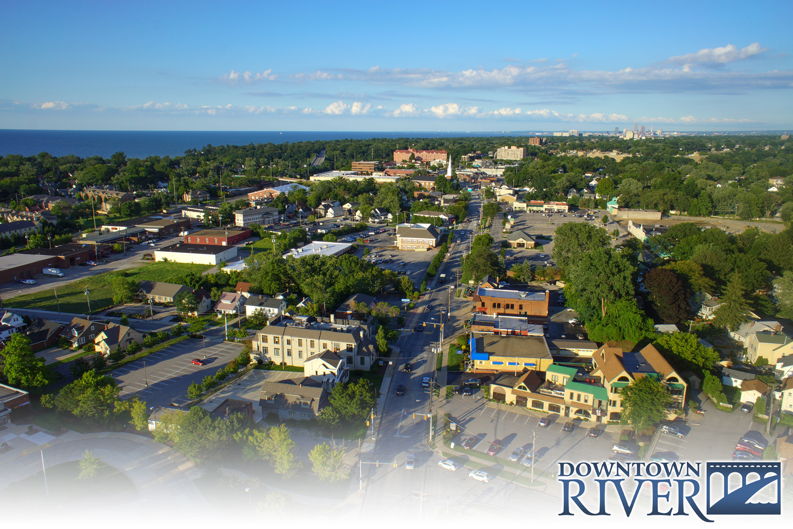 Take an Aerial Tour of Downtown River -