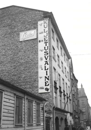 Kuljetusväline Oy sijaitsi 40 vuotta Helsingin keskustassa osoitteessa Uudenmaankatu 26