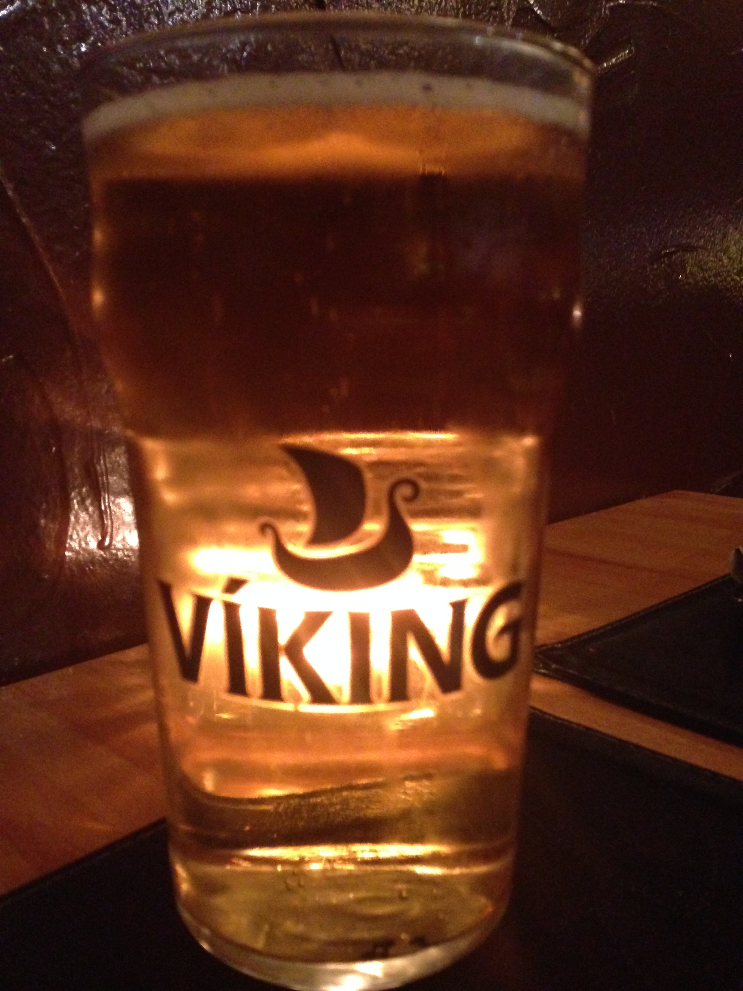 Icelandic Viking Beer - very tasty!