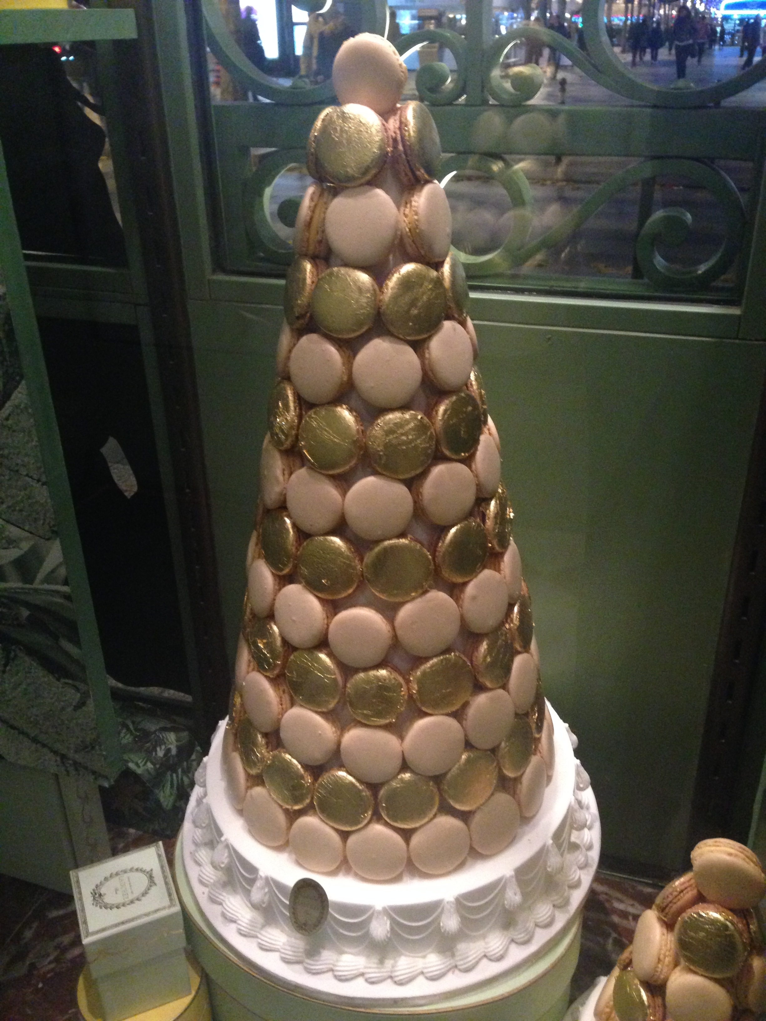 macaron tree at Laduree - the creators of the macaron as we know it - and definitely the best ones I've ever had