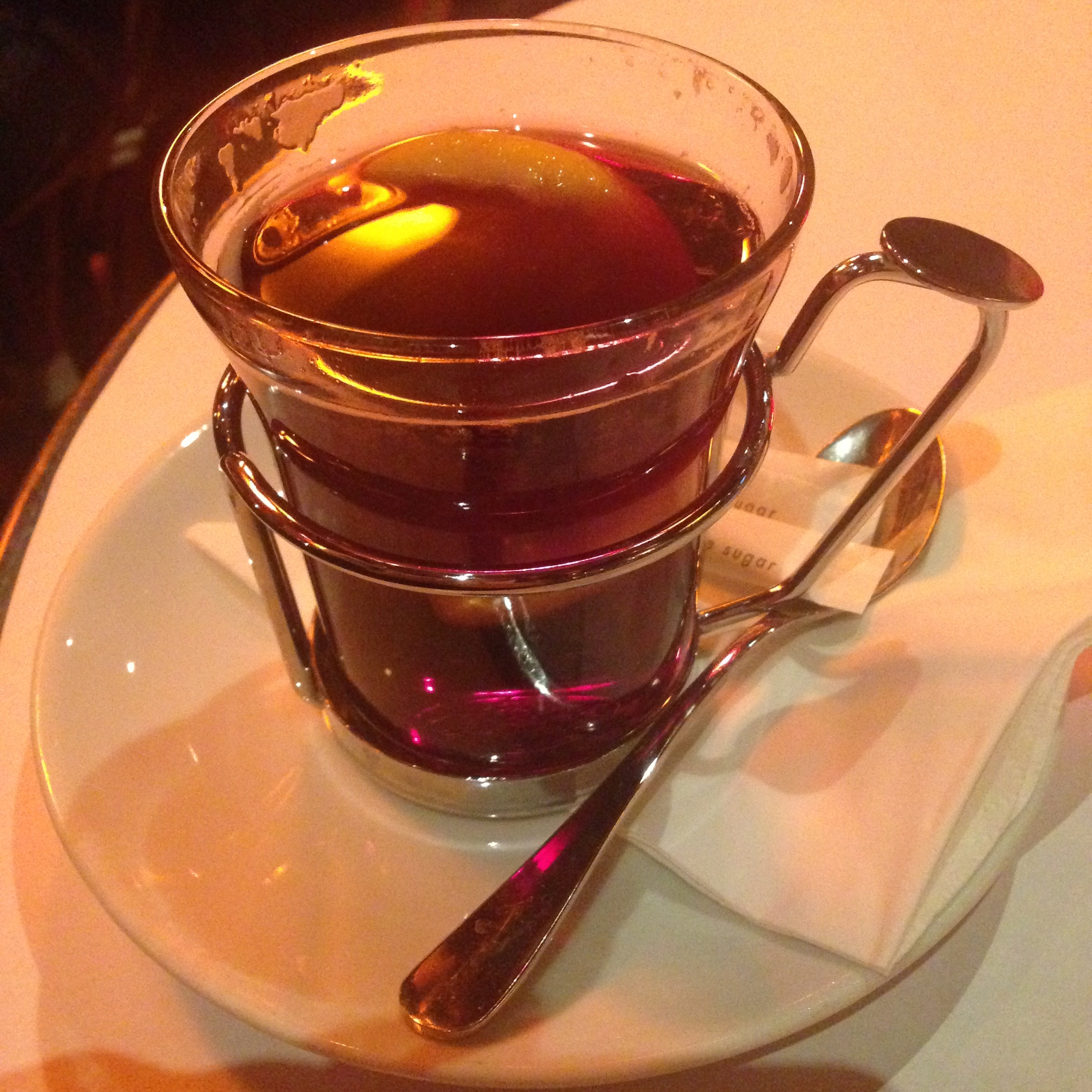 vin chaud (mulled hot wine) - we enjoyed many a cup of this!