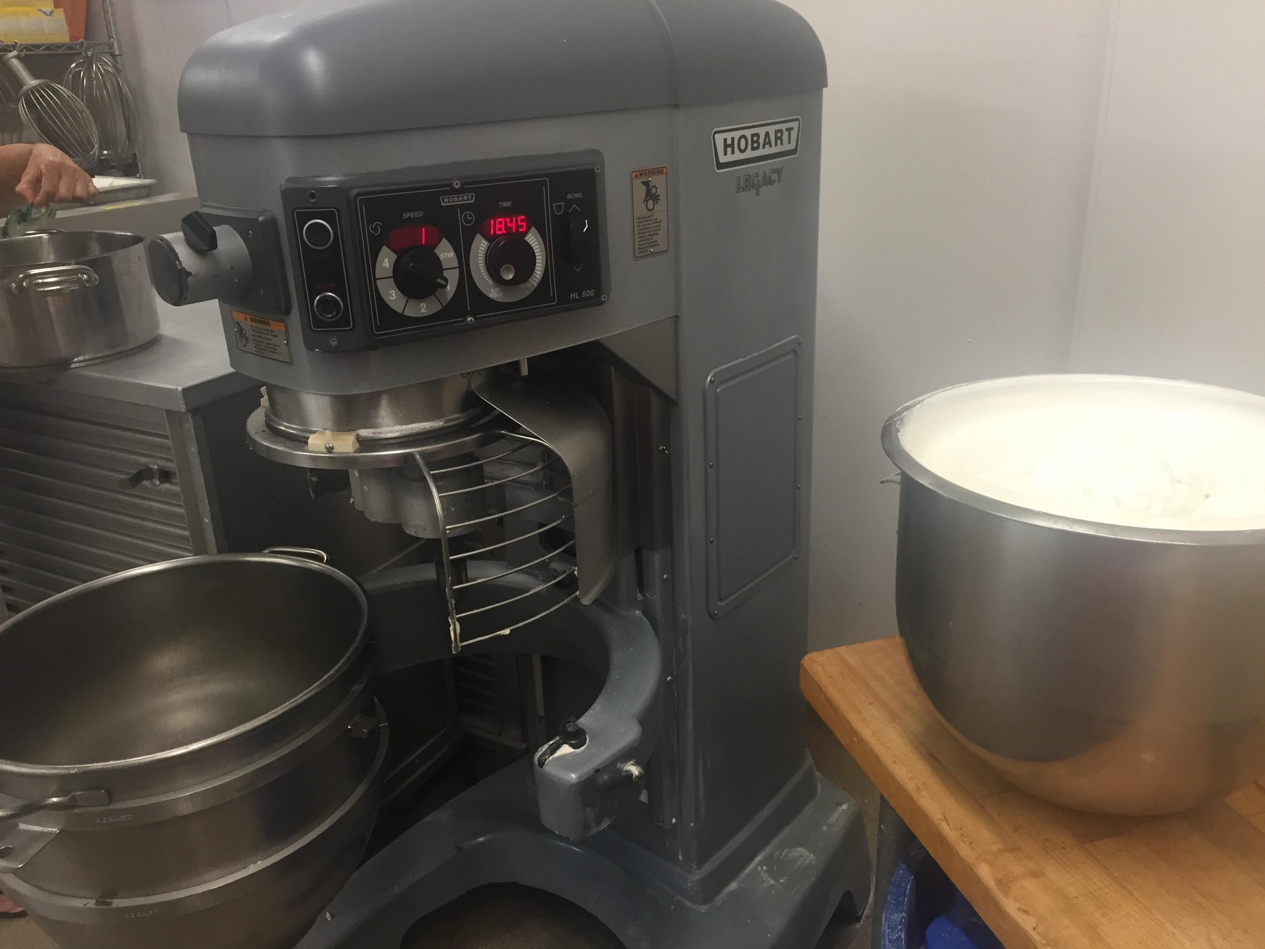 Finally found a mixer big enough for the job!
