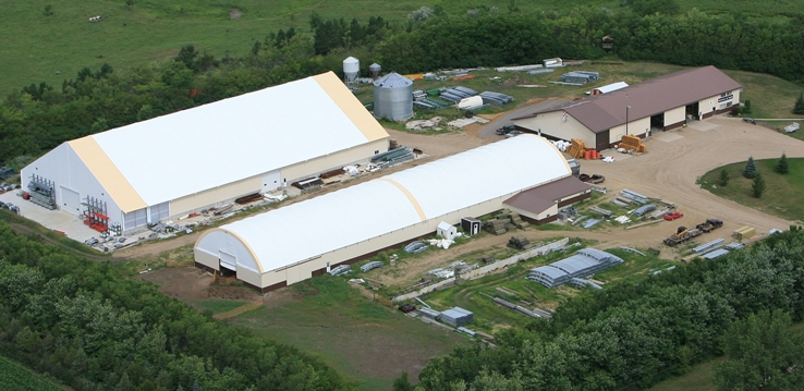 Our main facilities located 1 mile west and 1/2 mile south of Wilmot, SD.