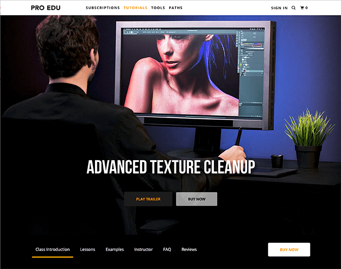 Advanced texture retouching from RGGEDU