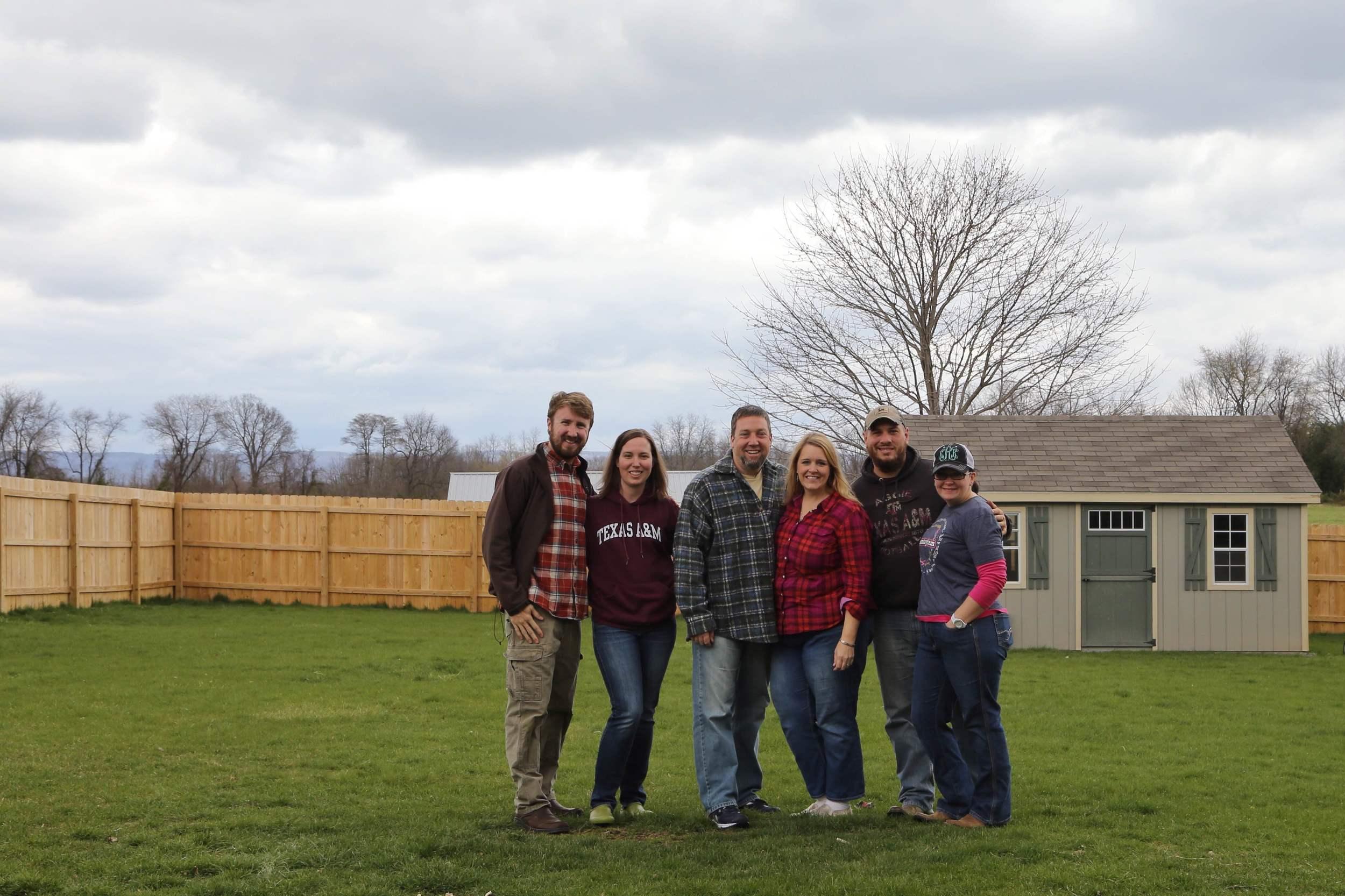 Kat and I along with Chris, Tori, Garrett, and Kari from  Family Life Church of Cypress