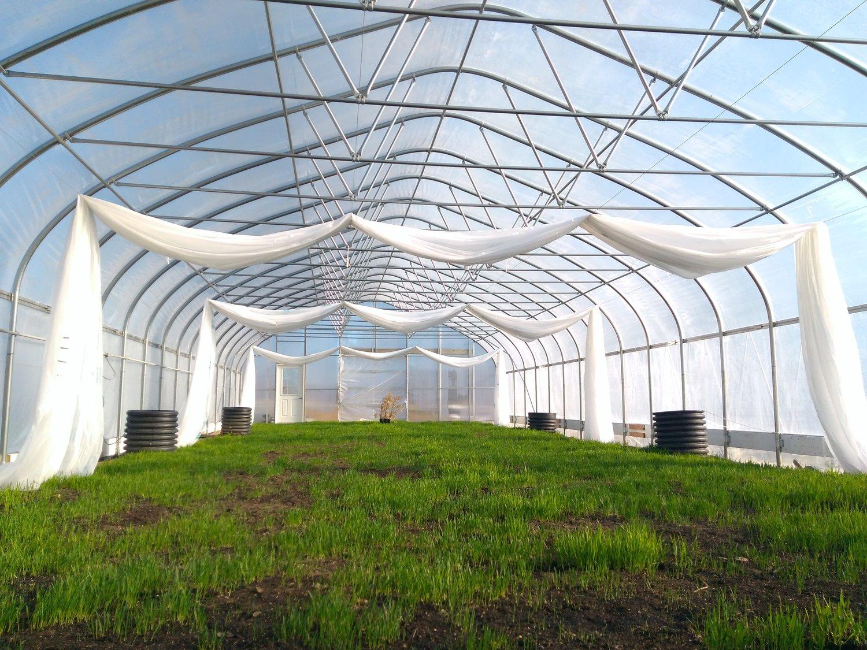 Climate Battery Greenhouse - Threefold Farm