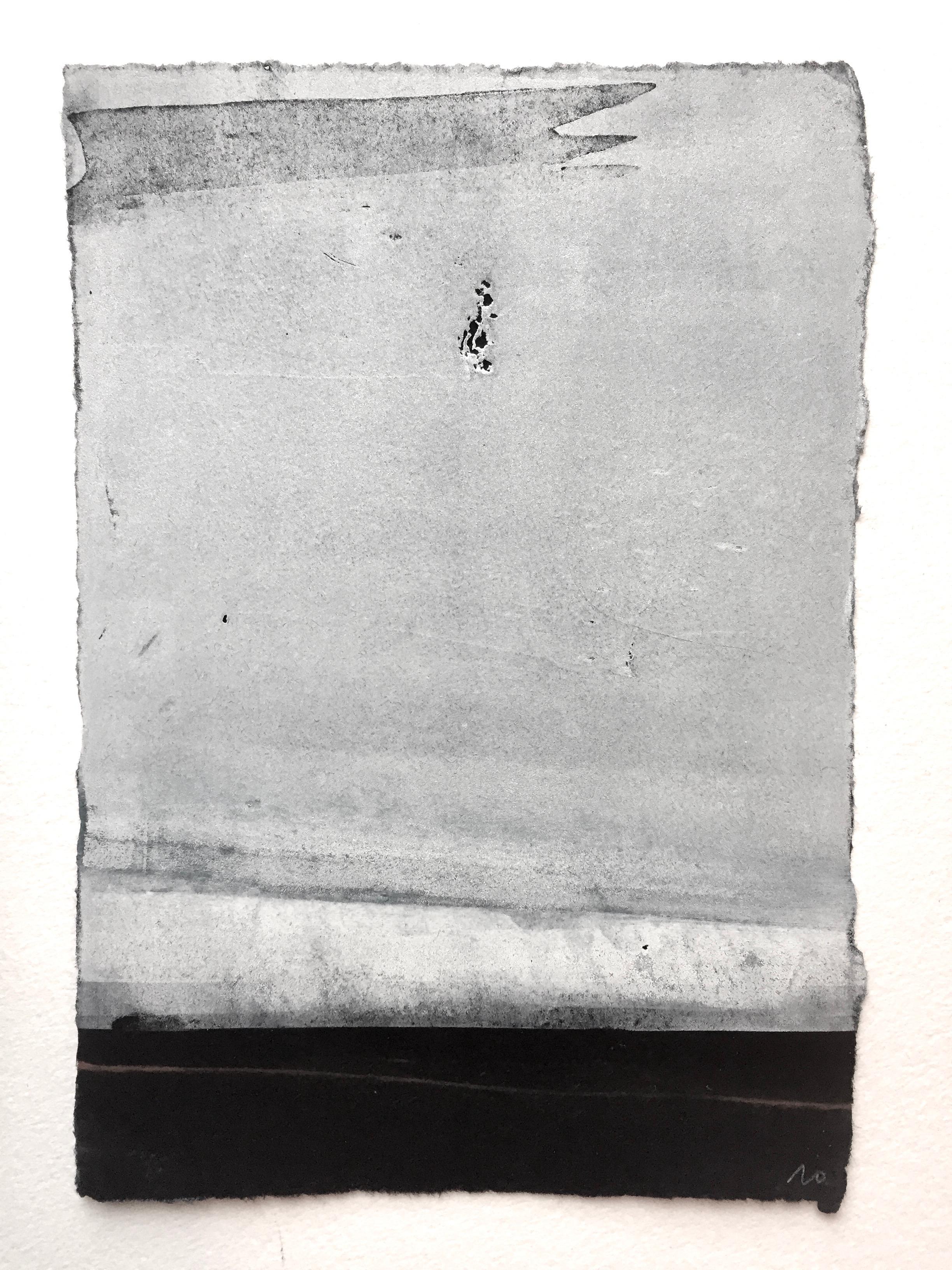 White flag, 26 x 20 cm, vendu