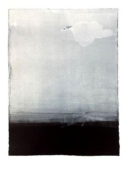 Présence, 53 x 43 cm, vendu