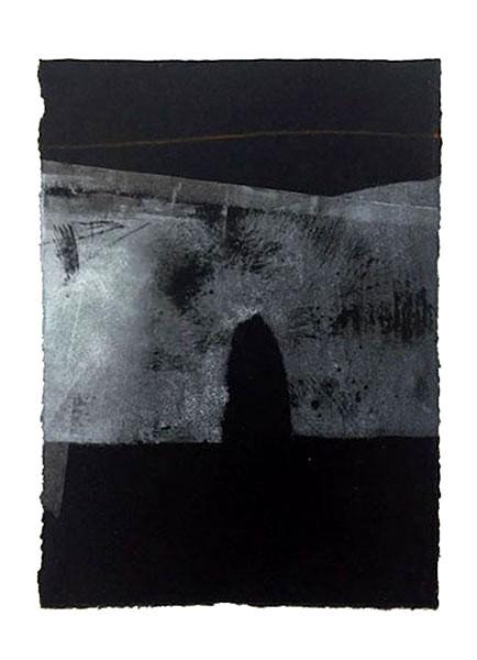 Open door, 26 x 20 cm, vendu