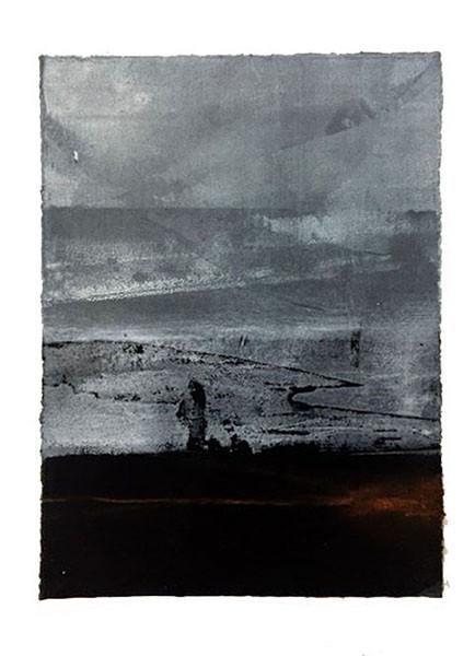 Silhouette, 26 x 20 cm, vendu