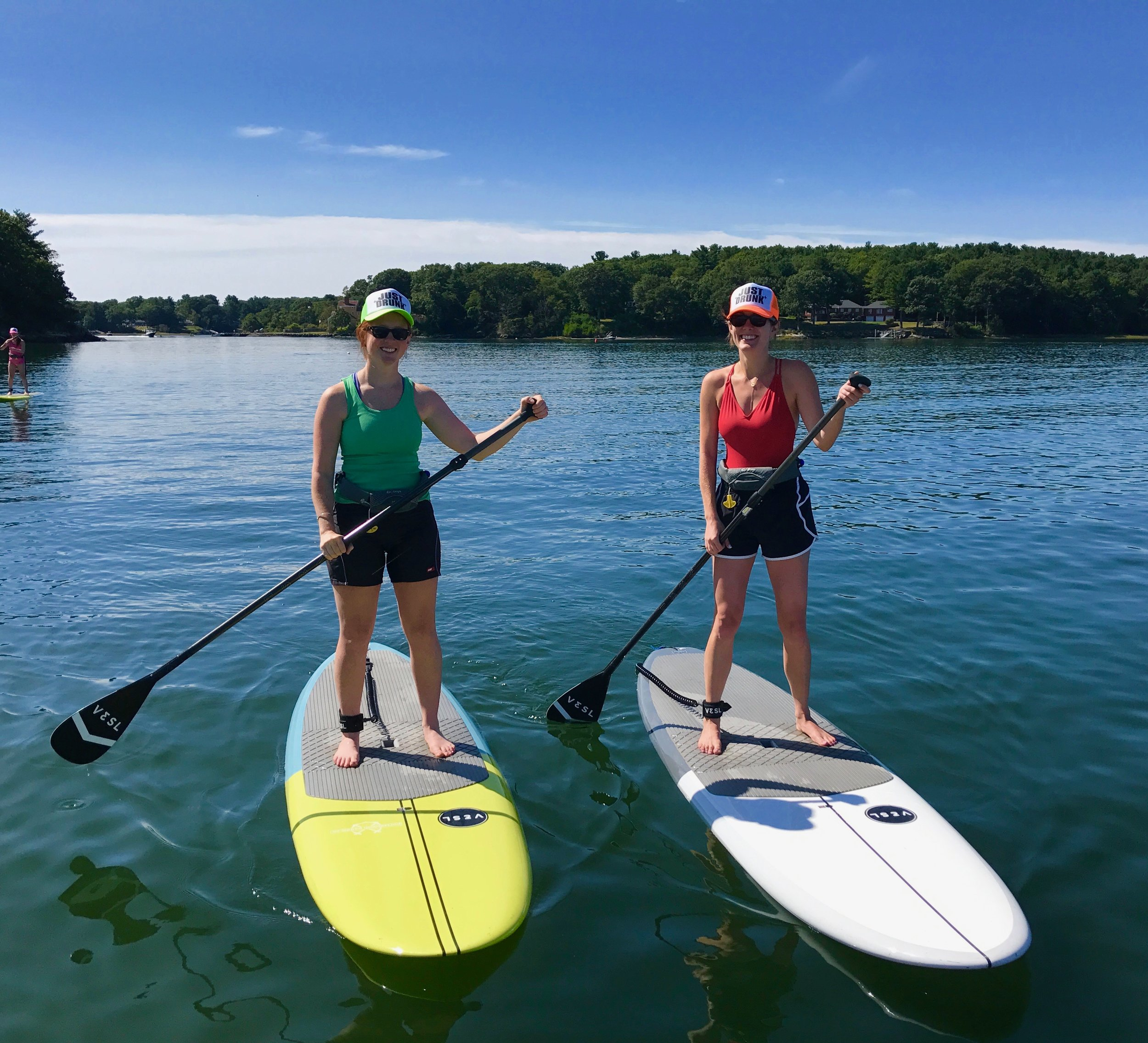 Paddle Board Instructor Lessons Portsmouth NH