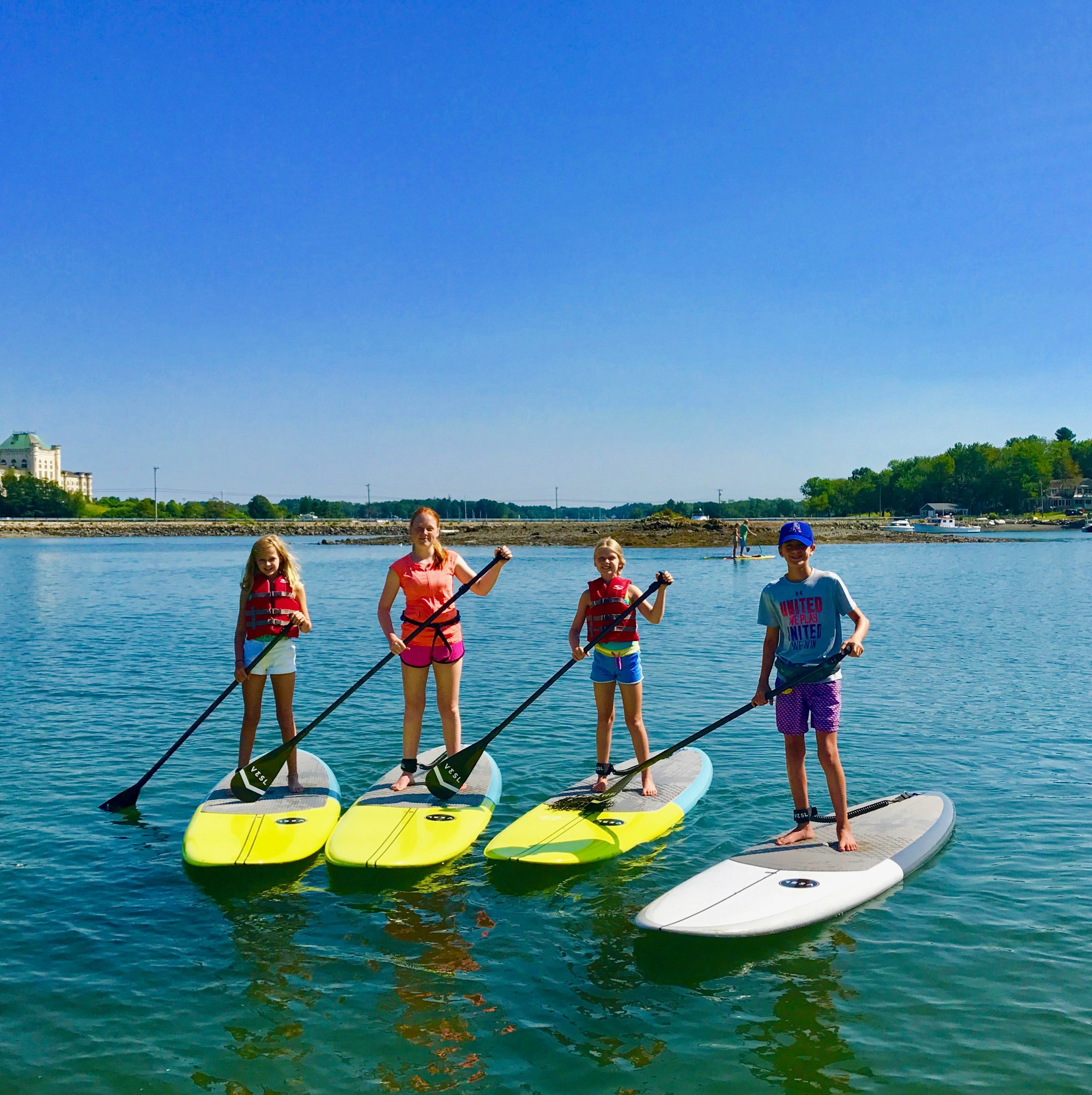 Portsmouth Paddle Co Paddle Board Lessons NH