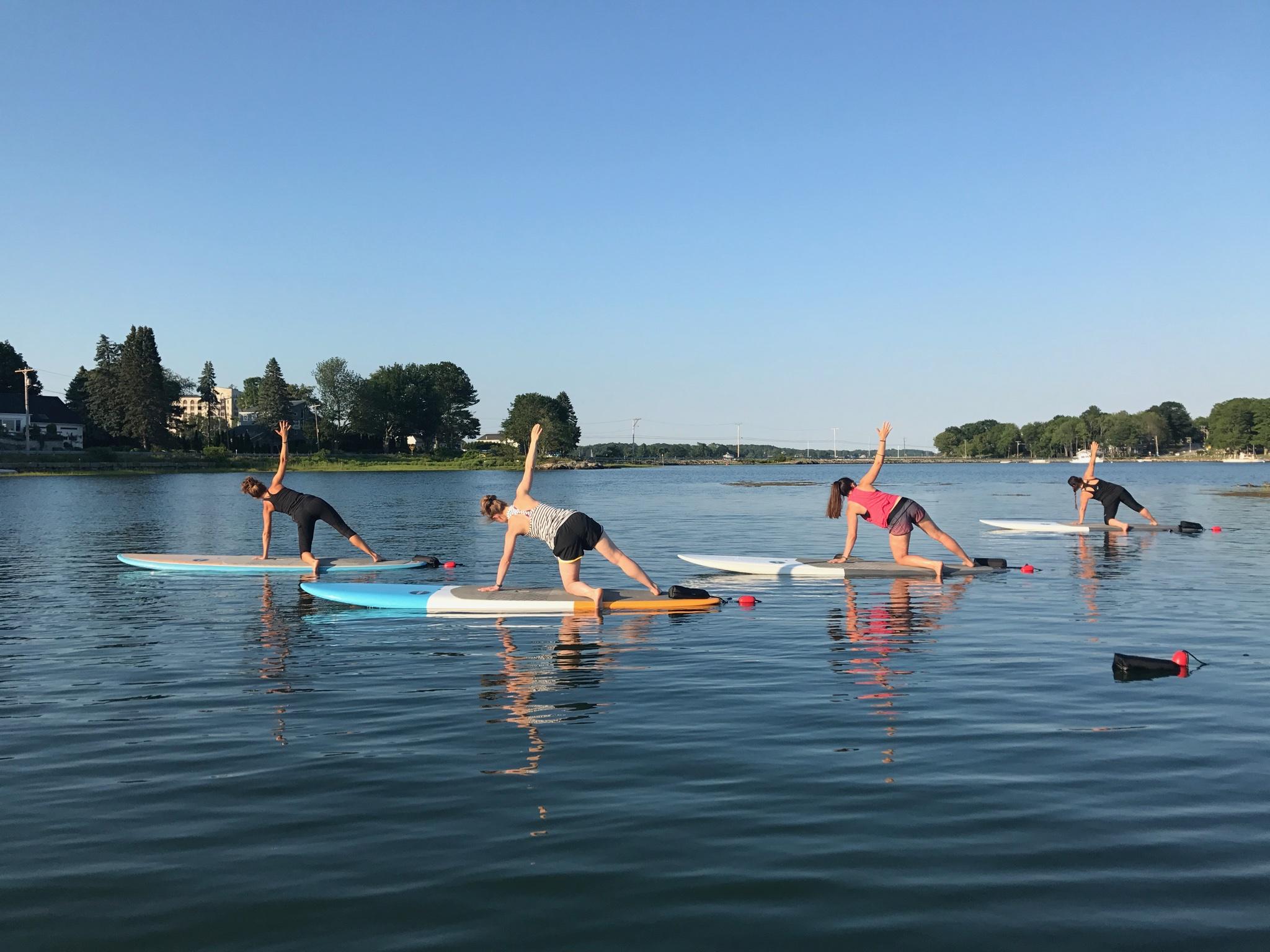 Paddle Board Pilates NH