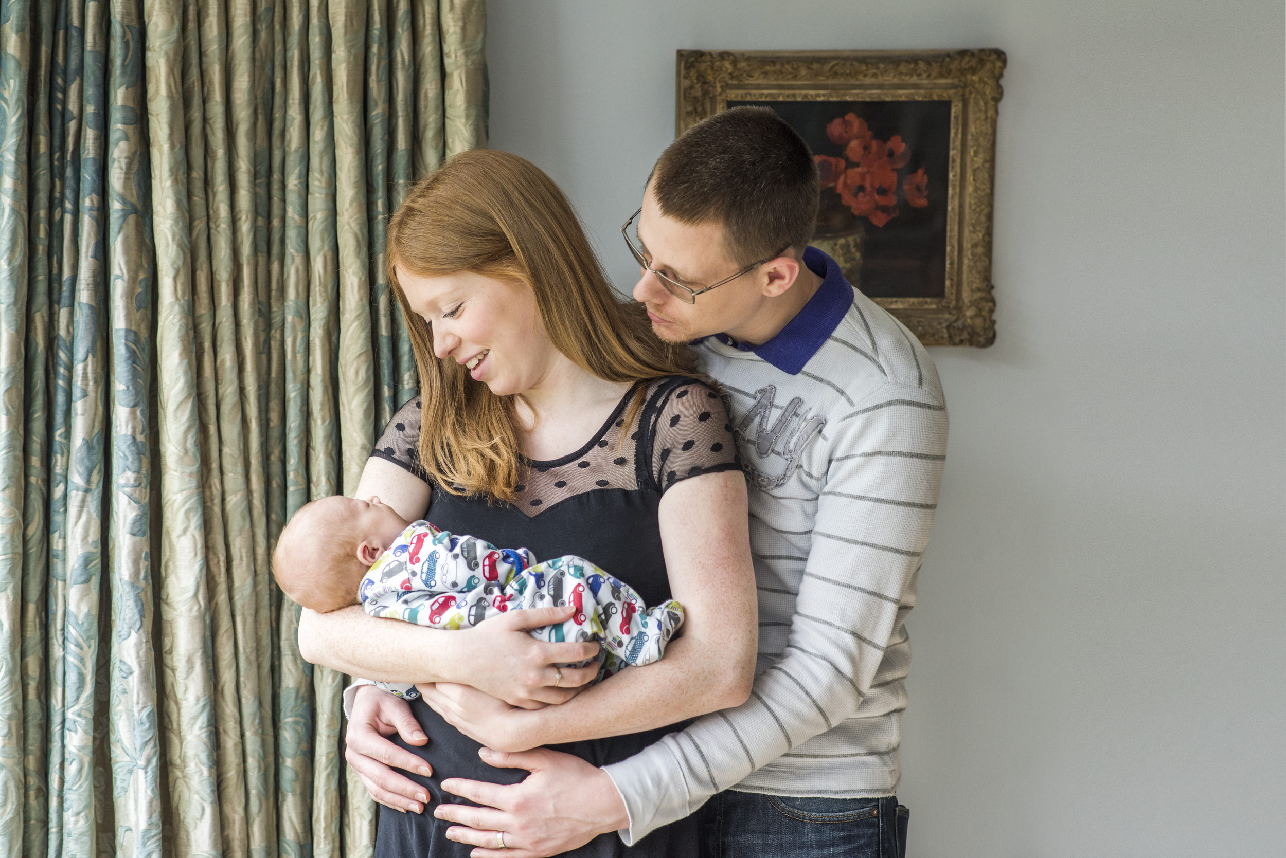 02 - Family with newborn portrait horizontal.jpg