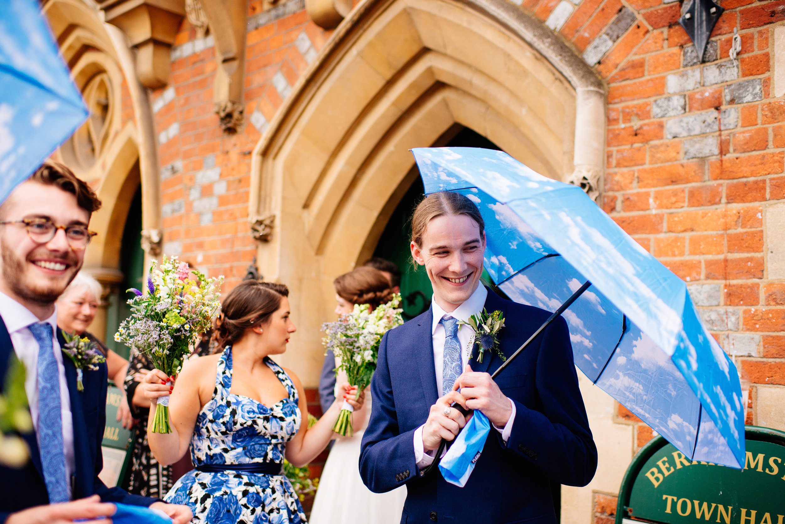 150 Emily + Daniel | Berkhamsted Towhall Wedding London Wedding Photographer Bride Groom Watford.jpg