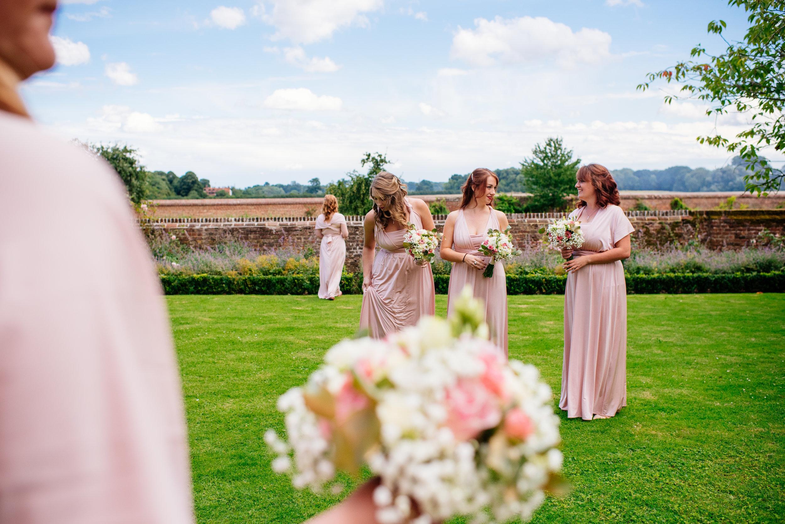 14 Lillibrooke Manor Berkshire Bridesmaids Landscape Wedding Photography.jpg