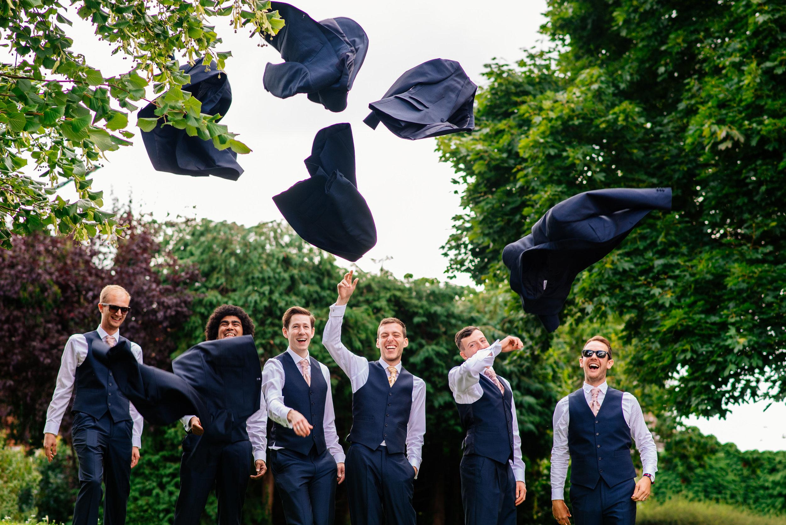18 Lillibrooke Manor Berkshire Groomsmen Jackets Wedding Photography.jpg