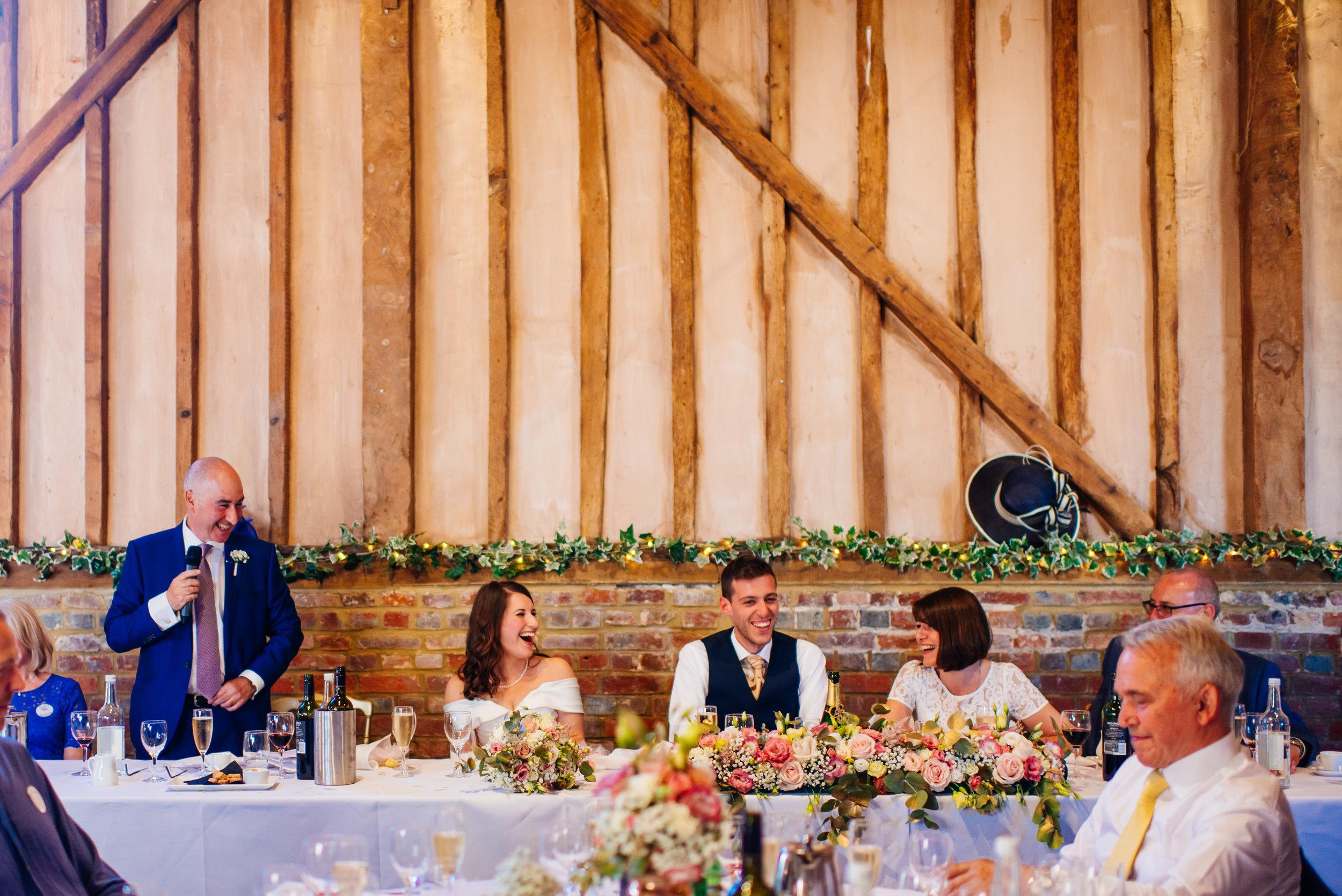 29 Lillibrooke Manor Berkshire Speeches Wedding Photography.jpg