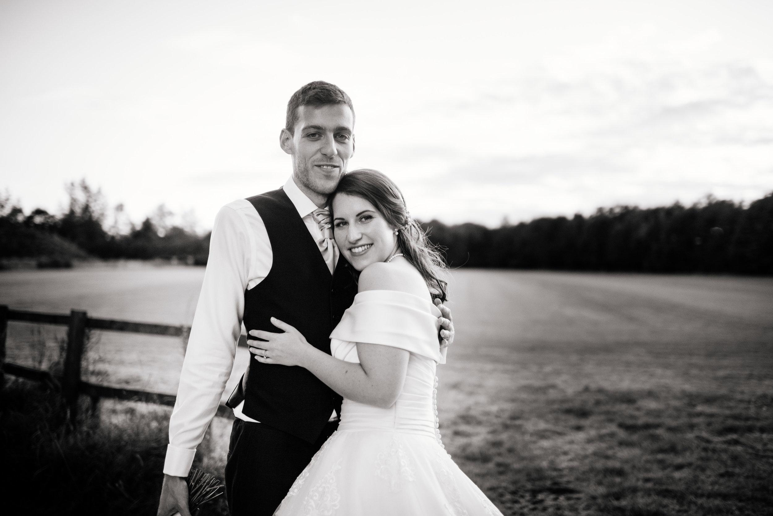 31 Lillibrooke Manor Berkshire Bride Groom Portrait Wedding Photography.jpg