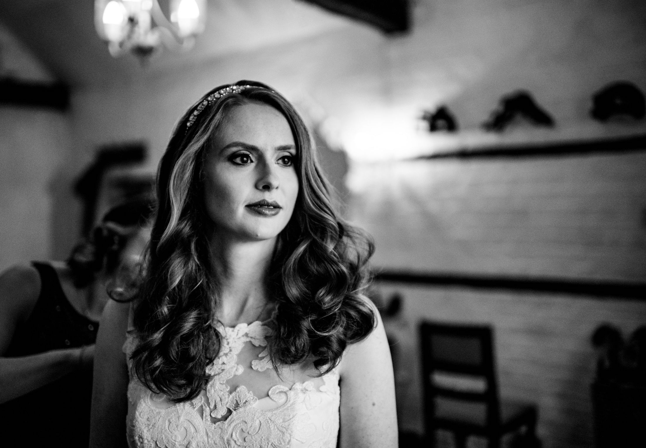 0 Lillibrooke Manor Bride Wedding Photography Black and White.jpg