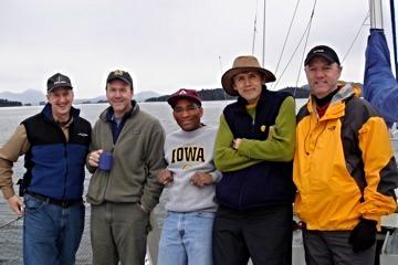 Bob, David, Phil, Miles and Jerry.