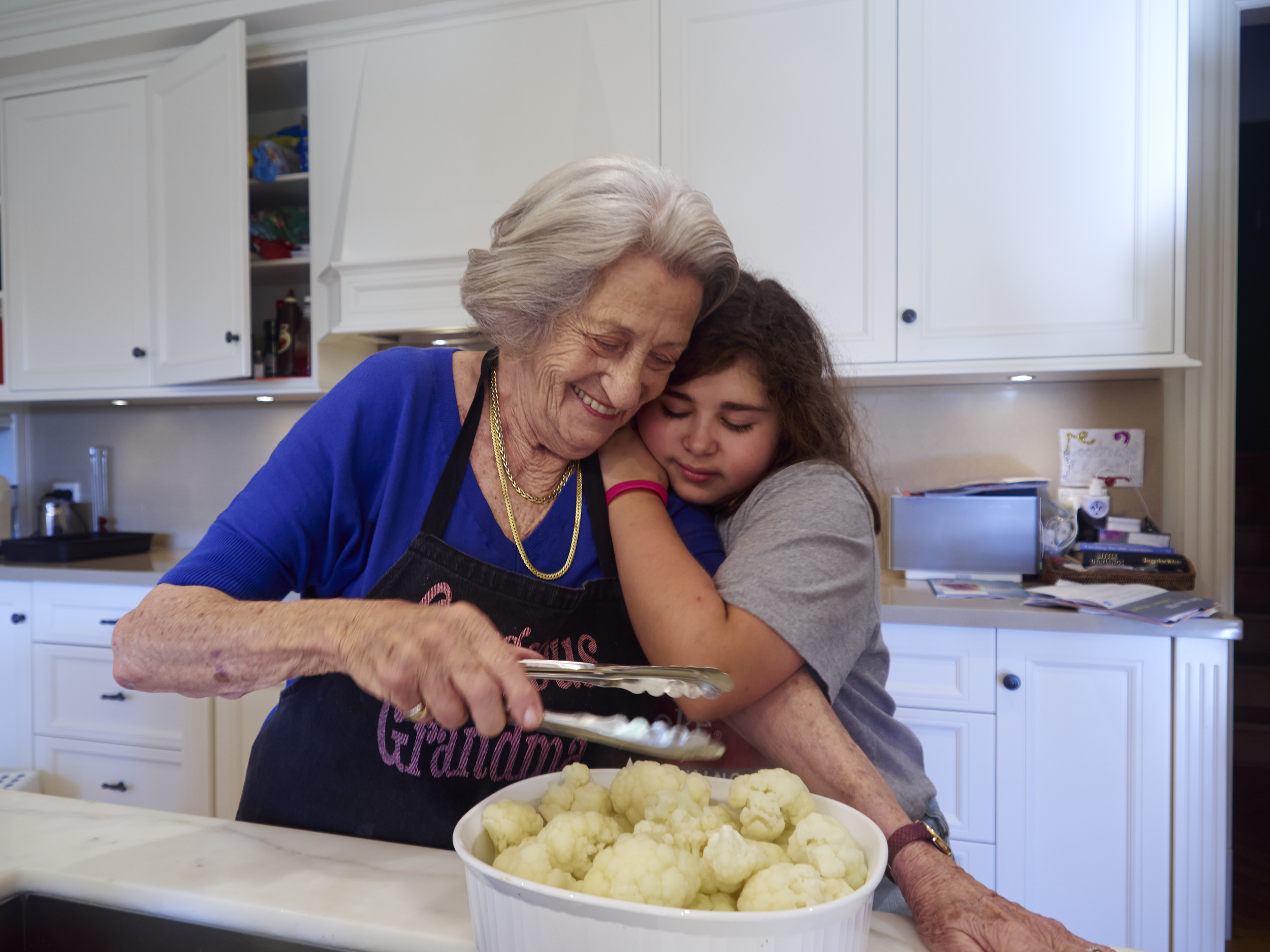 Agi Adler with her grand-daughter Sophie Rosen