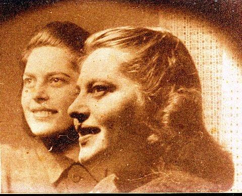 Annetta and Stephanie Heilbrunn