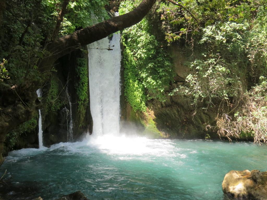 Banias spring, Golan Heights