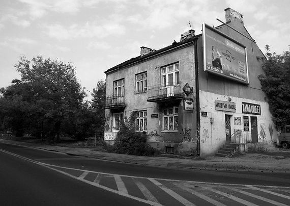 Buildings in the Grochow area of Warsaw, on the east side of the Vistula river. Celina, Ruth and her mother lived in a village called Wygoda for 2 years from 1943, till they were liberated by the Red Army in 1945.