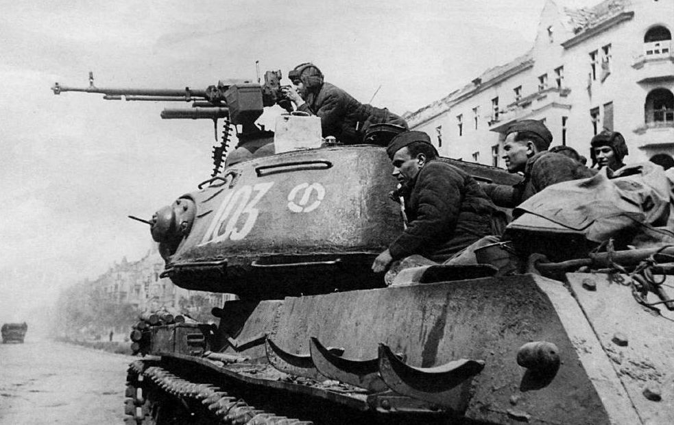 From the summer of 1944, the Red Army was fighting its way East through Poland.Russian troops chased the Nazis out of Poland, including liberating the death camps of Auschwitz and Treblinka.