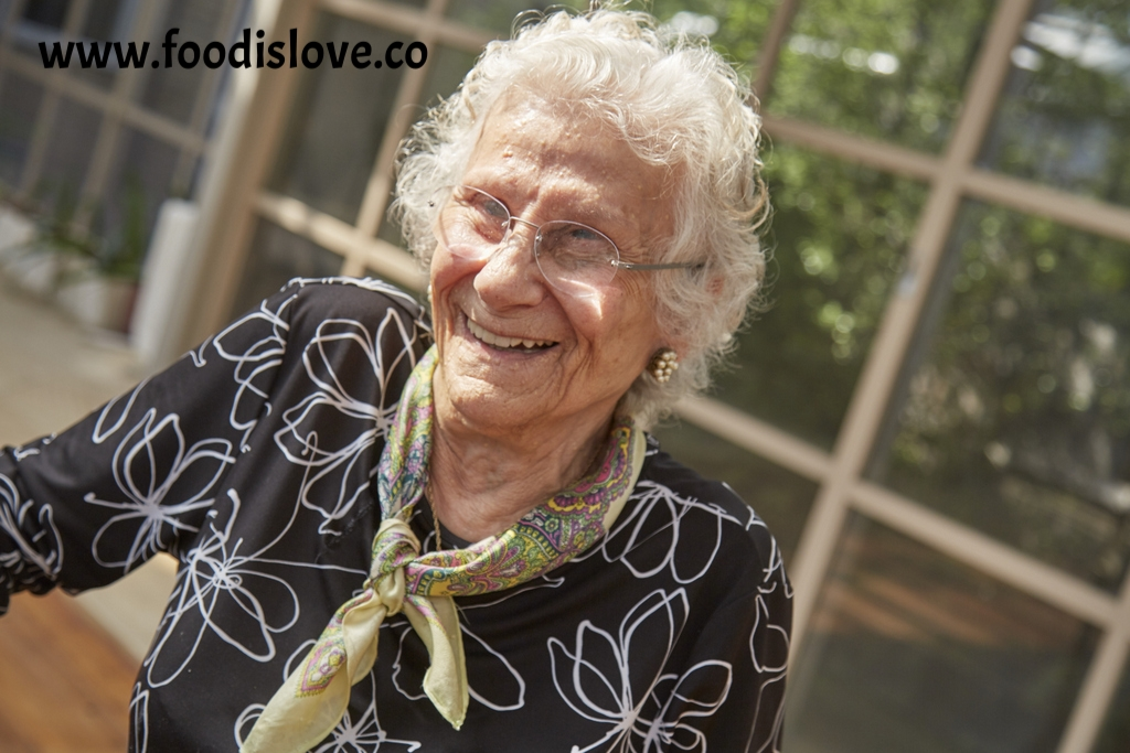 Baba Schwartz, in Melbourne, where she has lived since arriving as a migrant in 1958.