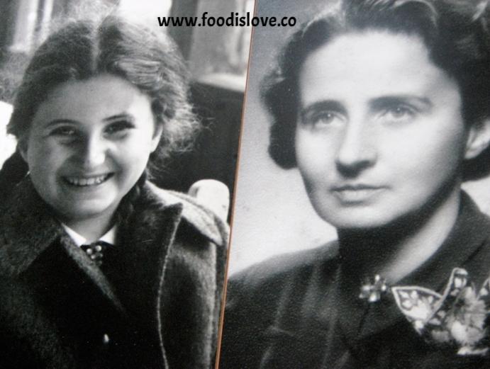 Eva's sister Vera and her mother Elisabeth