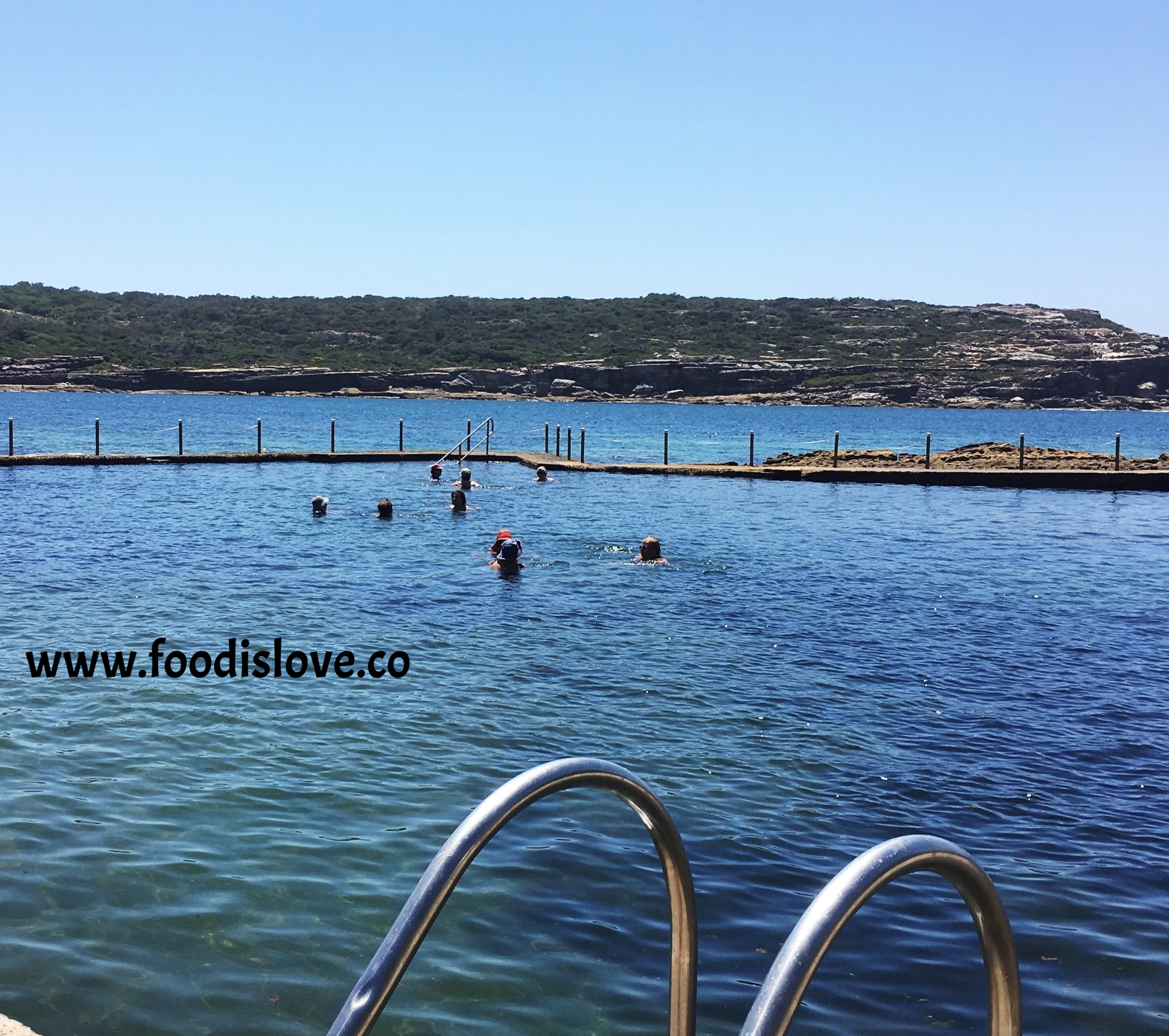 No time for swimming! Greek grandmothers discuss recipes at Malabar pool, Sydney,