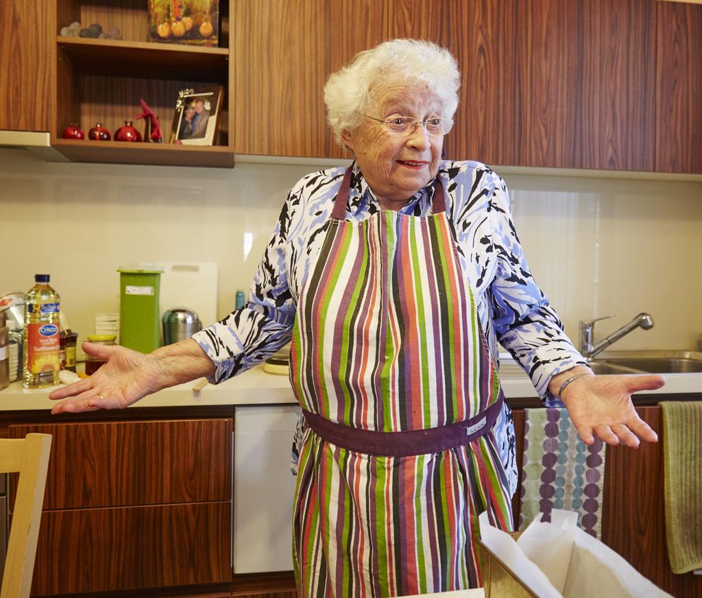 Saba Feniger in her Melbourne kitchen, 2015