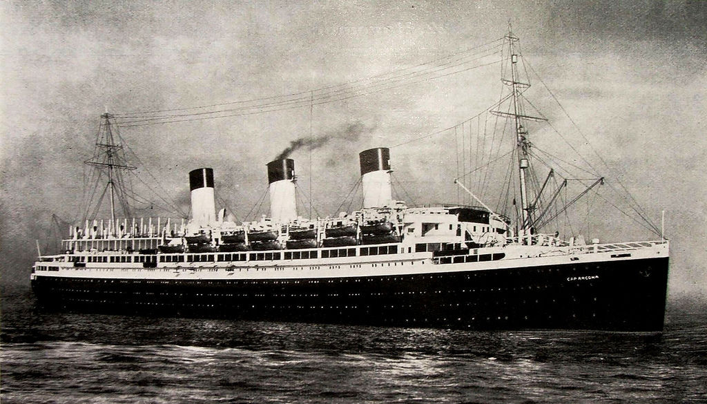 The Cap Acona, the larges  t of the ships bombed by the RAF in Lubeck Bay was a German luxury liner seconded as a naval vessel by the Nazis during World War II.Its final job was carrying concentration camp prisoners. More than 5,000 died on this ship alone.
