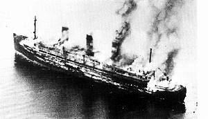 Saba Feniger was watching from the shore as the RAF bombed the Cap Acona and 2 other ships in May 1945.More than 7,000 prisoners were killed.