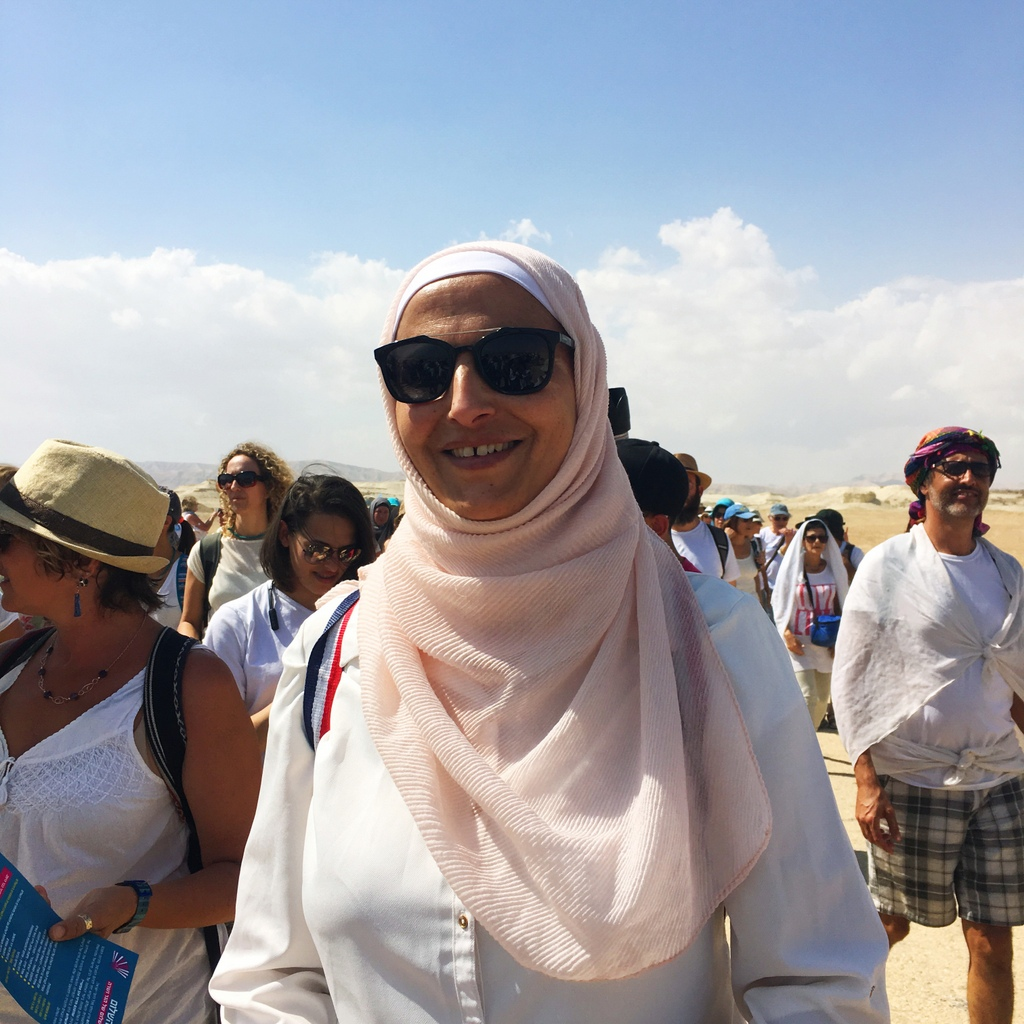 Lama AbuArqoub, Palestinian teacher and mother of 5 from Hebron.